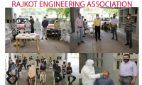 CORANA TEST CAMP AT RAJKOT ENGINEERING ASSOCIATION  ON  DT.17-09-2020 FOR INDUSTRIES under MEDICAL - HEALTH  CAMP